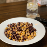 Roasted Chickpea and kidney beans