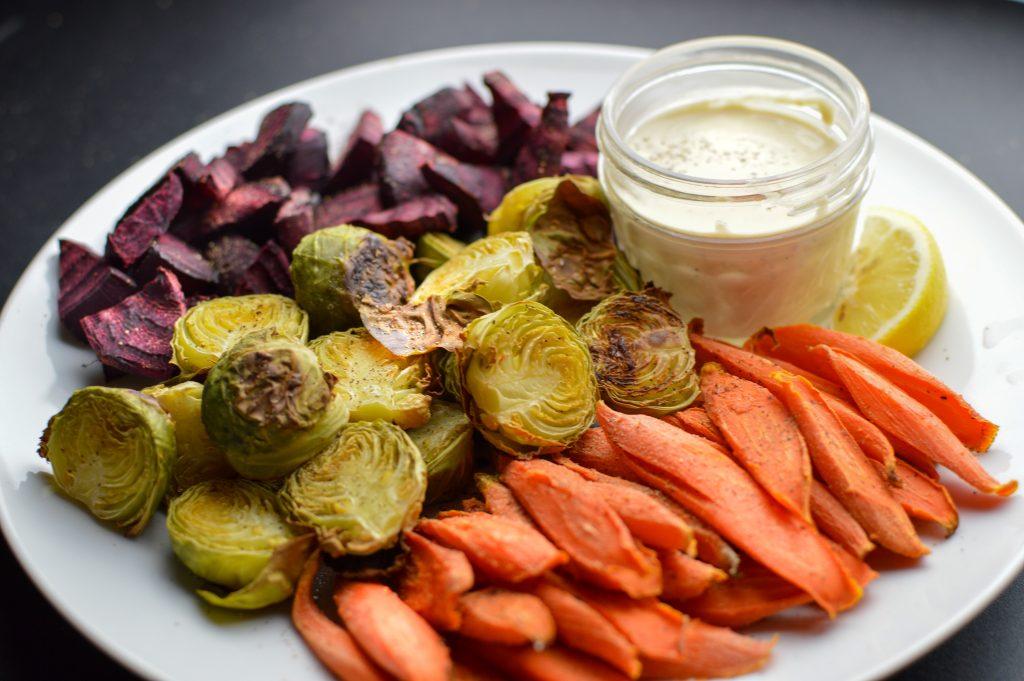 Roasted Oil Free Vegetables
