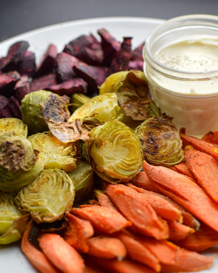 Roasted Oil Free Vegetables