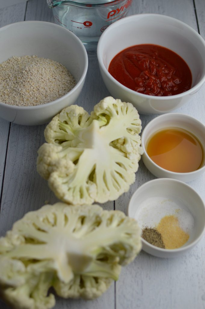 Ingredients Cauliflower Sriracha Buffalo Wings